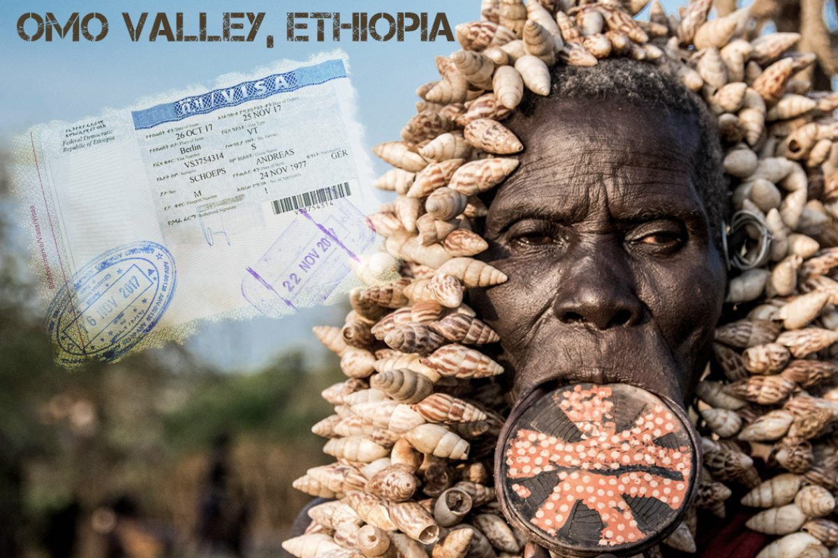 Omo Valley, Äthiopien 2017