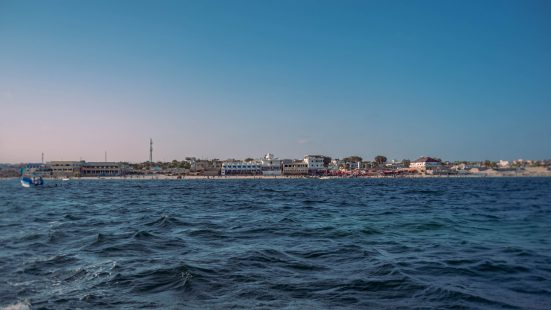 Mogadishu from the sea