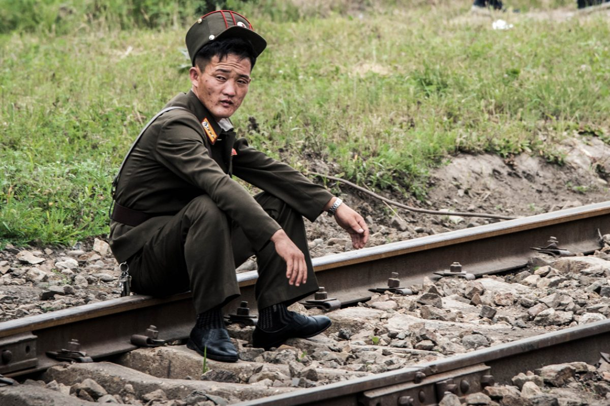 Trainride – North Korea to Russia